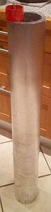 Alu Rohr für Kortdüse 2