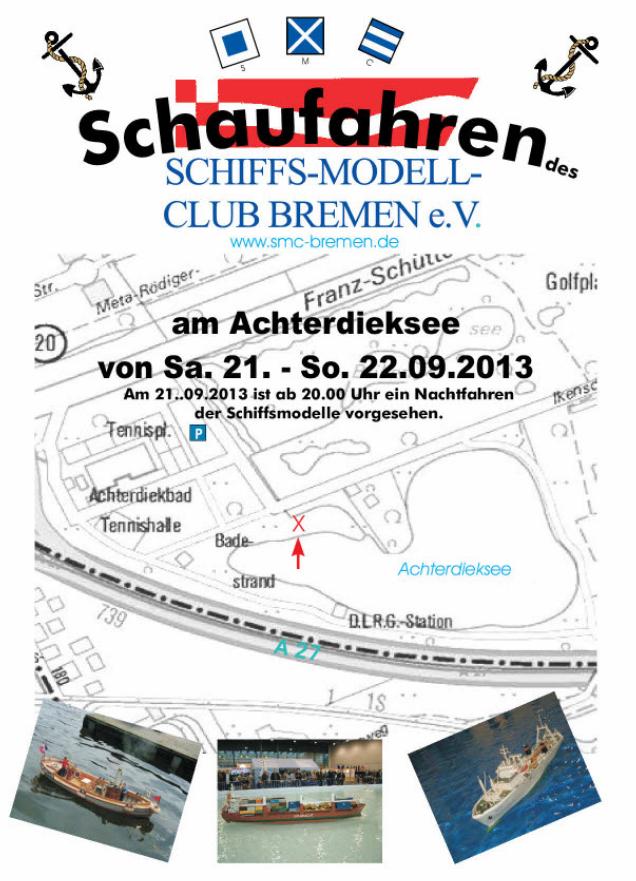 Schaufahren des SMC-Bremen 20. - 22.9.2013