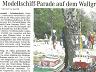 Modellschiffparade - Wallgraben und Kuhsiel